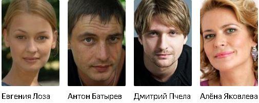 На качелях судьбы актеры